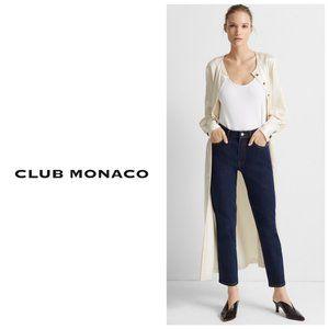 CLUB MONACO 100% Cotton Straight Leg Blue Jeans